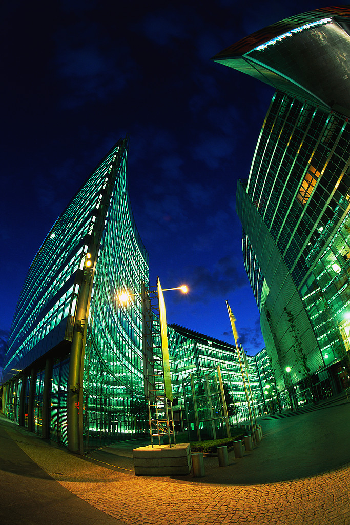 Buildings Surrounding Potsdamer Platz