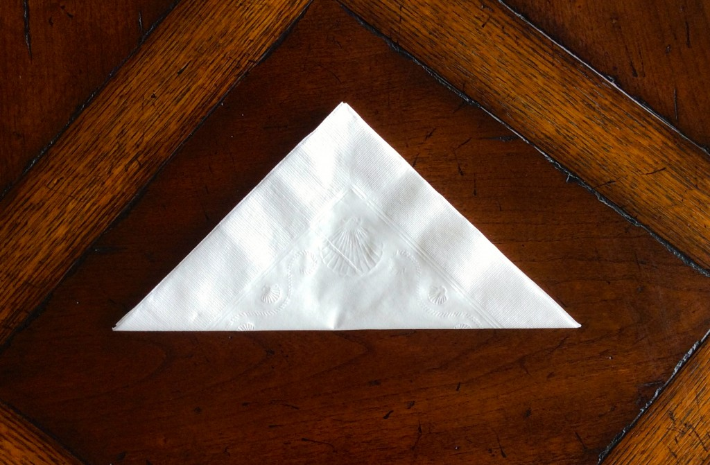 cisney's Napkin Folding Step 4