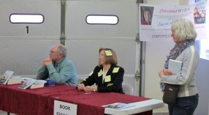 Book Selling and Signing by Lahtis